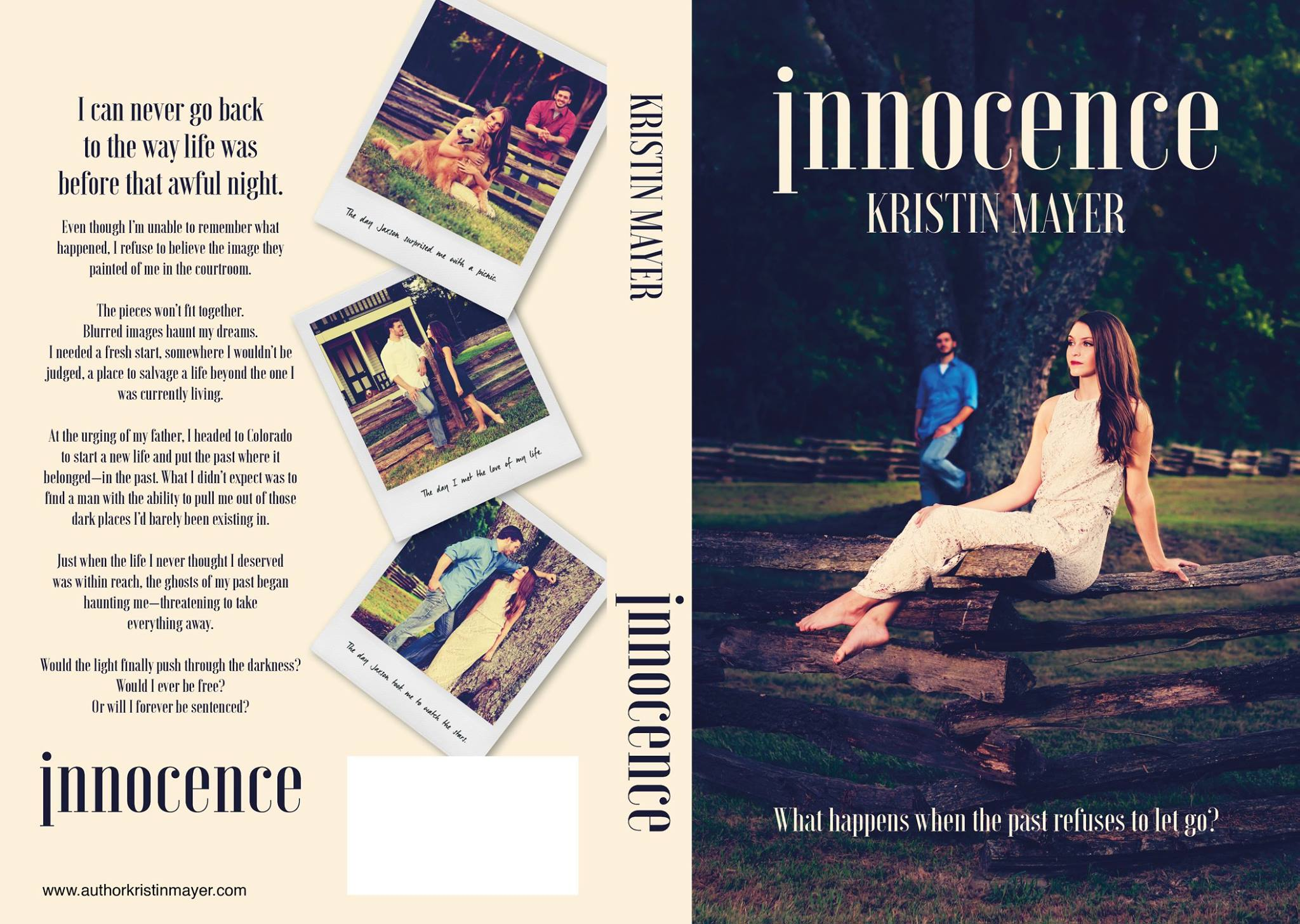 April Park Photography Northwest Arkansas Photographer Rogers Innocence Book Cover Kristin Mayer
